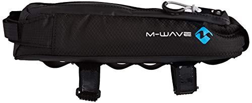 M-Wave BP TOP Oberrohrtasche, schwarz, ca. 7 x 8,5 x 29 cm