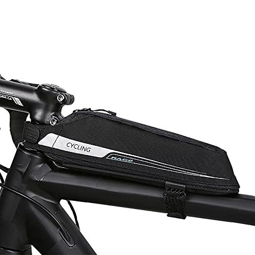Roswheel Fahrradtasche Radtasche für Rennrad Fahrradtasche TOPTUBE Bag Professionelle Rennrad Tasche(0,4L)