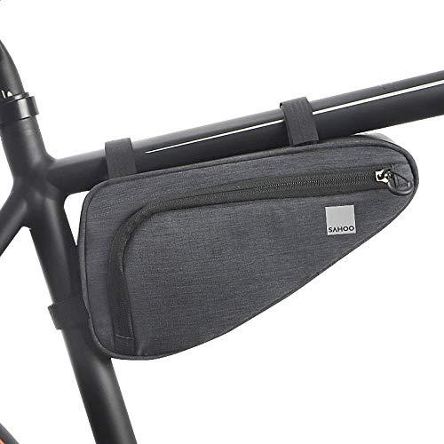 Roswheel Unisex's 121469 Fahrradrahmen-Dreieckstasche, Schwarz, Einheitsgröße