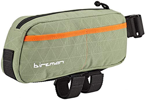Birzman Unisex Packman Travel Top Tube Pack Carrier Grün, Orange, Schwarz, Einheitsgröße