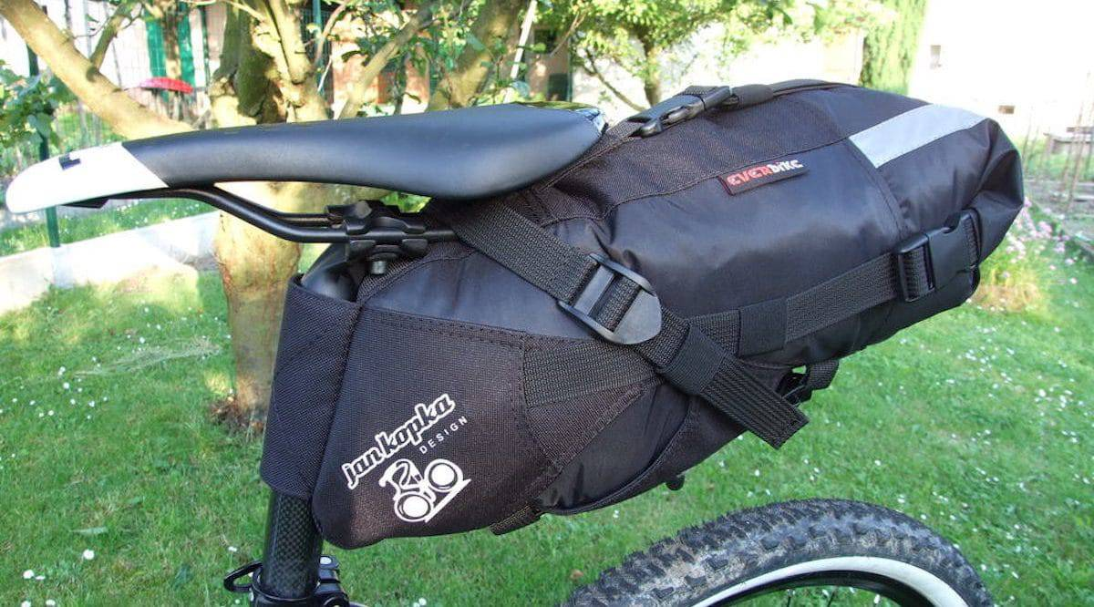Everbike Bikepacking Satteltasche