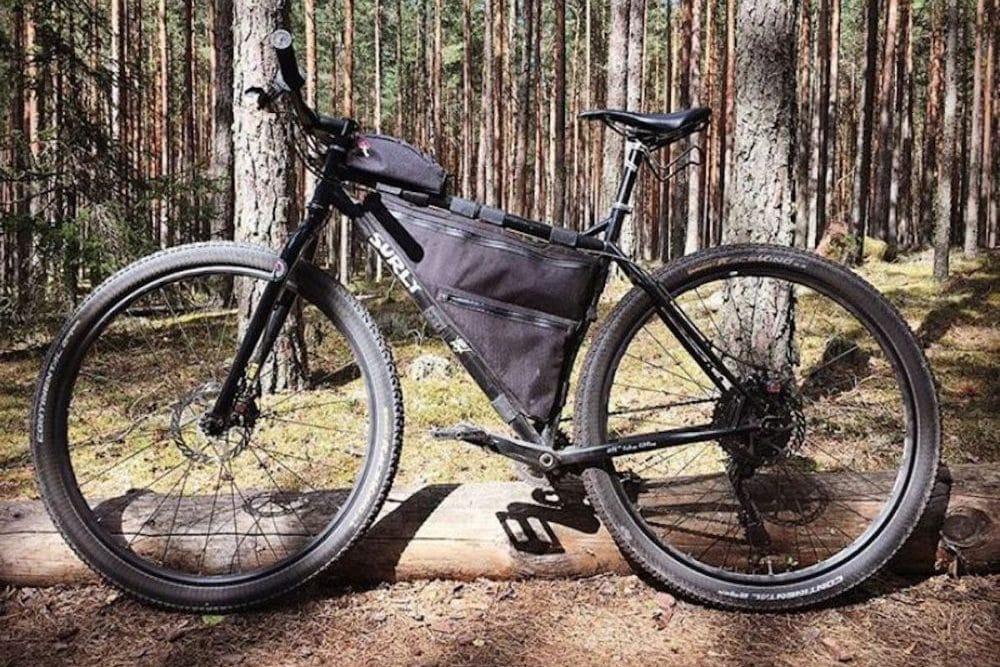 Bikepacking Rahmentasche Full Frame Bag
